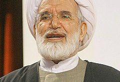 شیخ مهدی کروبی نماینده مردم الیگودرز در دوره اول مجلس شورای اسلامی