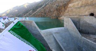 شرکت ملی پخش فرآورده های نفتی منطقه لرستان از سد رودبارشهرستان الیگودرز