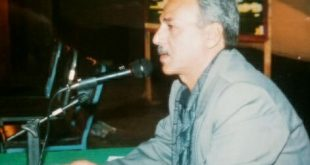 زنده یاد ولی اله شاهسواری شاعر الیگودرزی و به تعبیر رسانه ها حافظ شناس نامی لرستان