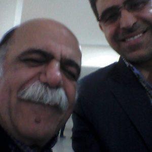 دکتر عبدالرضا گودرزی و میرجلال الدین کزازی