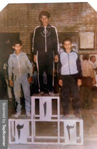 مسابقات آموزشگاههای کشور(نوجوانان)، زنجان(۱۳۶۲) دکتر عظیم لک
