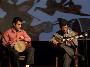 اجرای موسیقی دکتر عظیم لک با هنرمندی بنیامین گلپایگانی(تنبک)، گرامیداشت فردوسی (۱۳۸۶)