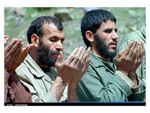 سردار بهرام گودرزی و سردار شهید نقیبی
