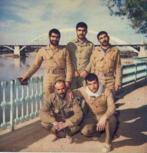 حضور شهید محمد جواد توکلی در جبهه های جنگ8 ساله