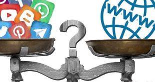 رسانه های اجتماعی یا وب سایت